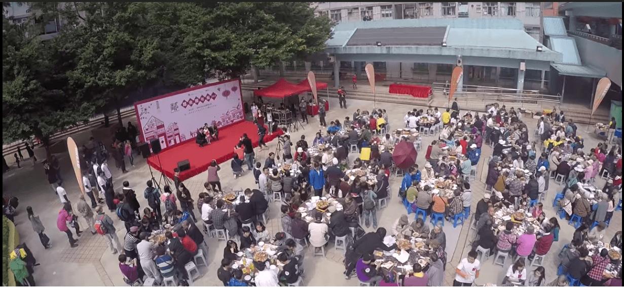 鄰舍團年飯2015 黃大仙區