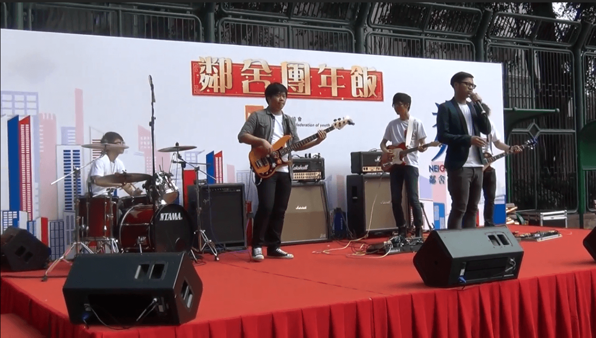 Pendular – 靈感 (Live @ 鄰舍團年飯)