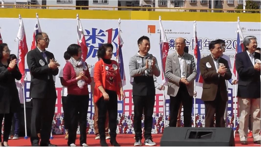 香港青年協會2014 鄰舍團年飯 – 主禮嘉賓 — 財政司司長曾俊華